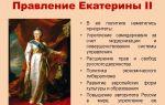 Екатерина 2 – биография, правление, реформы