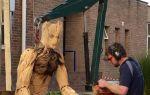 Скульптуры сделанные бензопилой – шедевры искусства