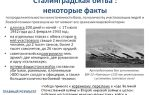 Сталинградская битва – краткая история, числа и факты