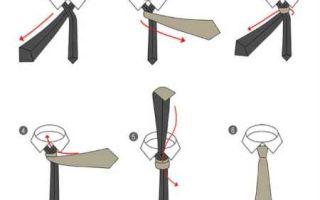 Как завязать галстук – лучшие способы