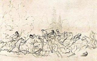 Рисунки лермонтова – живопись и графика поэта