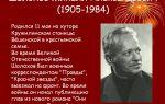 Биография михаила шолохова