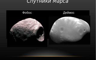 Спутники марса – интересные факты об открытии