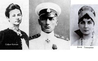 Адмирал колчак – биография, личная жизнь, фото
