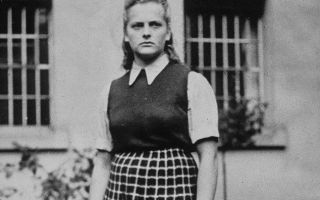 Ирма грезе – самая жестокая женщина фашистов