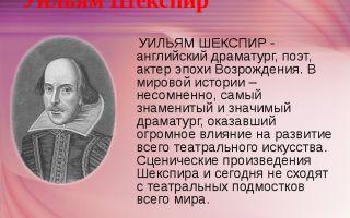 Уильям шекспир – биография, личная жизнь, фото
