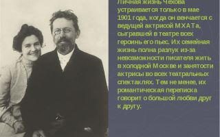 Антон чехов – биография, личная жизнь, фото