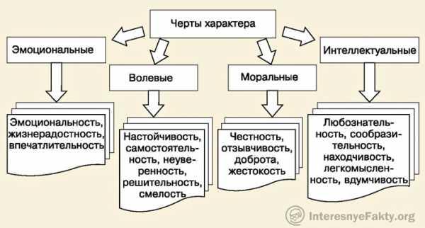 Свойства характера в психологии